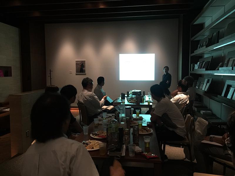 大阪デザインセンター主催講座の交流会を大伸社ディライトで実施しました!
