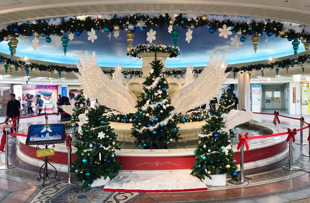 弊社プロデュースのホワイティうめだ クリスマス装飾『天使の物語~Angel Snow~』開催!